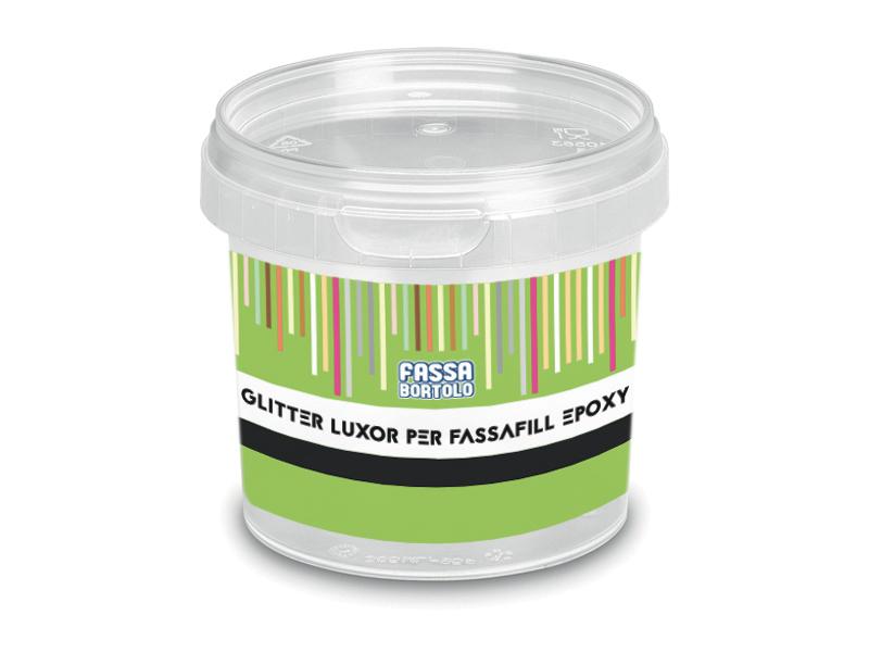 GLITTER LUXOR PER FASSAFIL EPOXY: Glitter für die Additivierung der FASSAFILL EPOXY