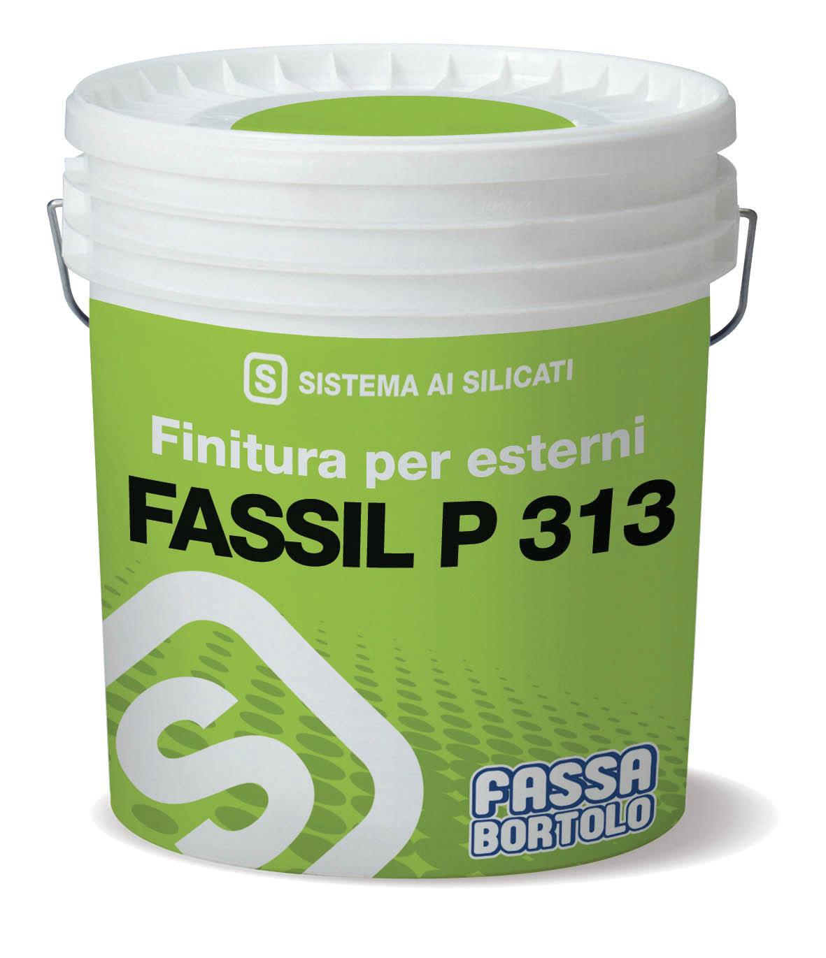 FASSIL P 313: Wasserbasierter, mineralischer, glatter Silikatanstrich