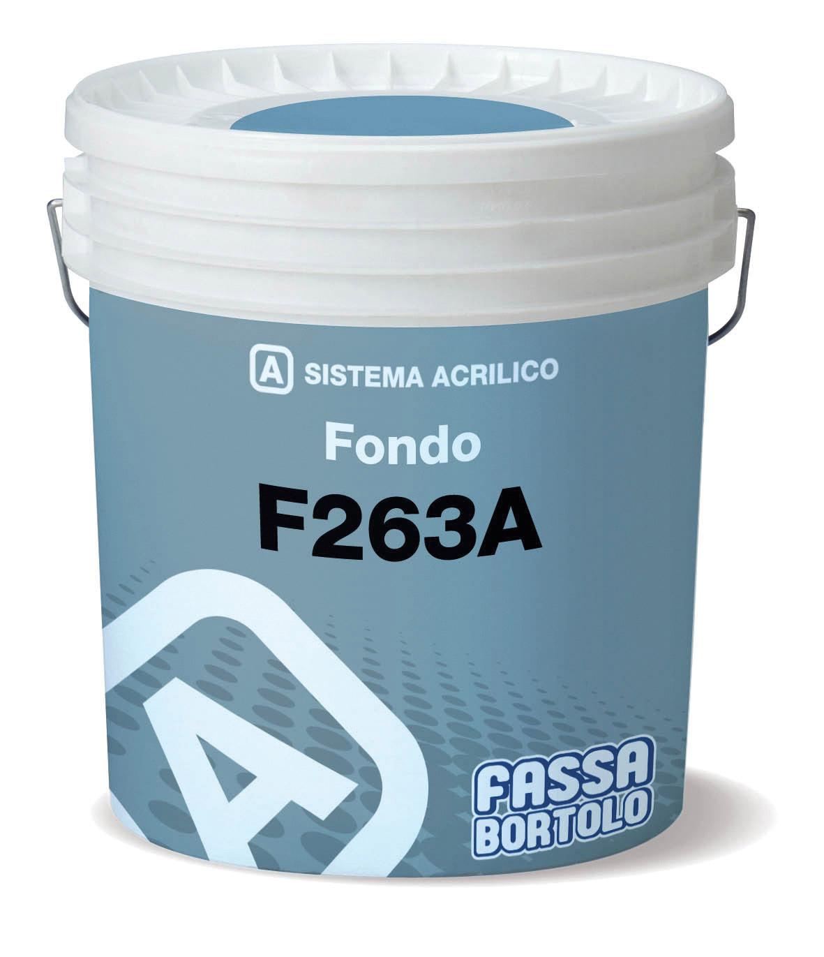 F 263A: Füllgrund mit Feinputz-Optik, für außen und innen