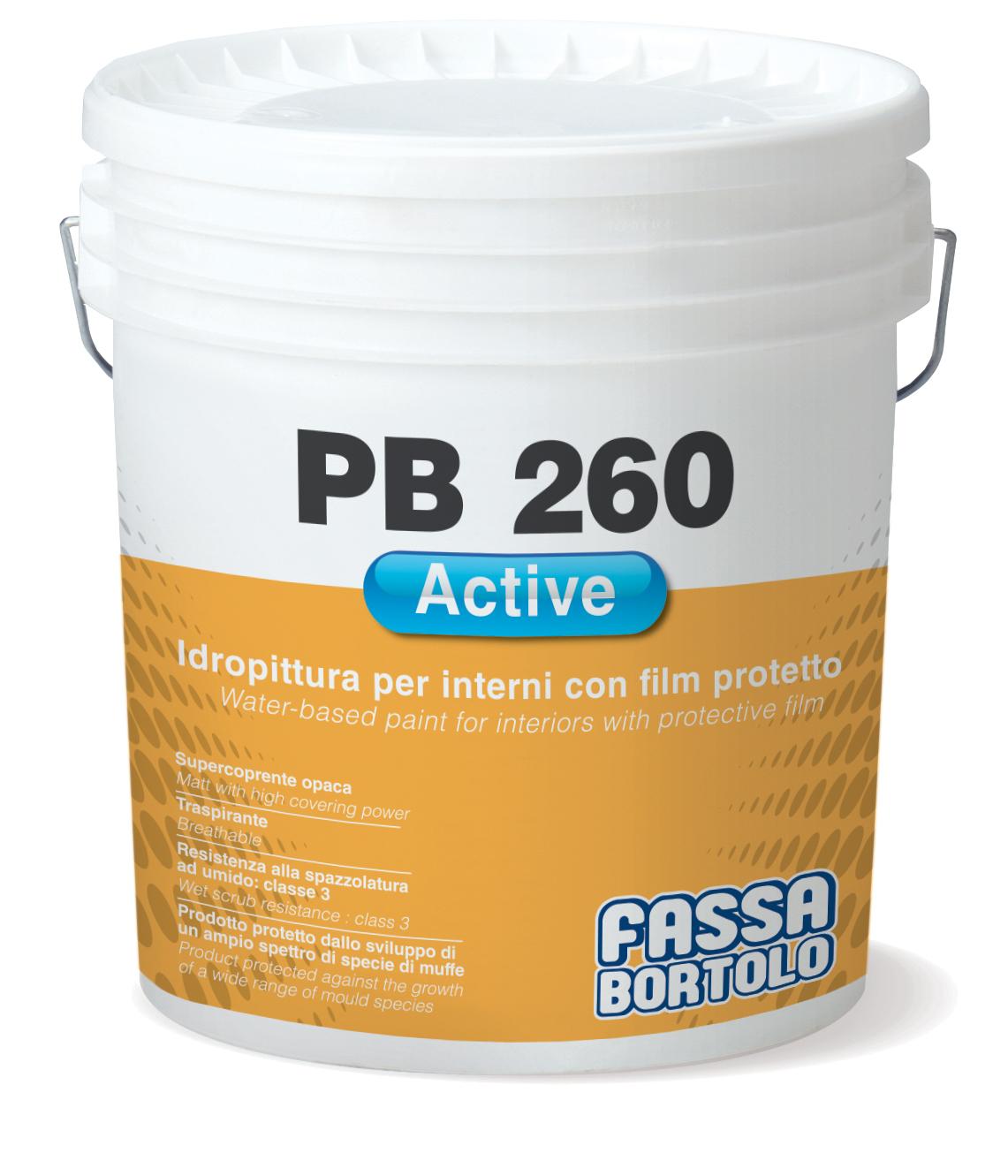 PB 260 ACTIVE: Wasserbasierter Anstrich mit Schutzfilm
