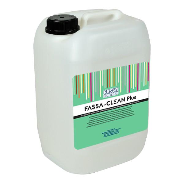 FASSA-CLEAN PLUS: Konzertrierter Säurereiniger für die Reinigung von Keramikfliesen und Cotto