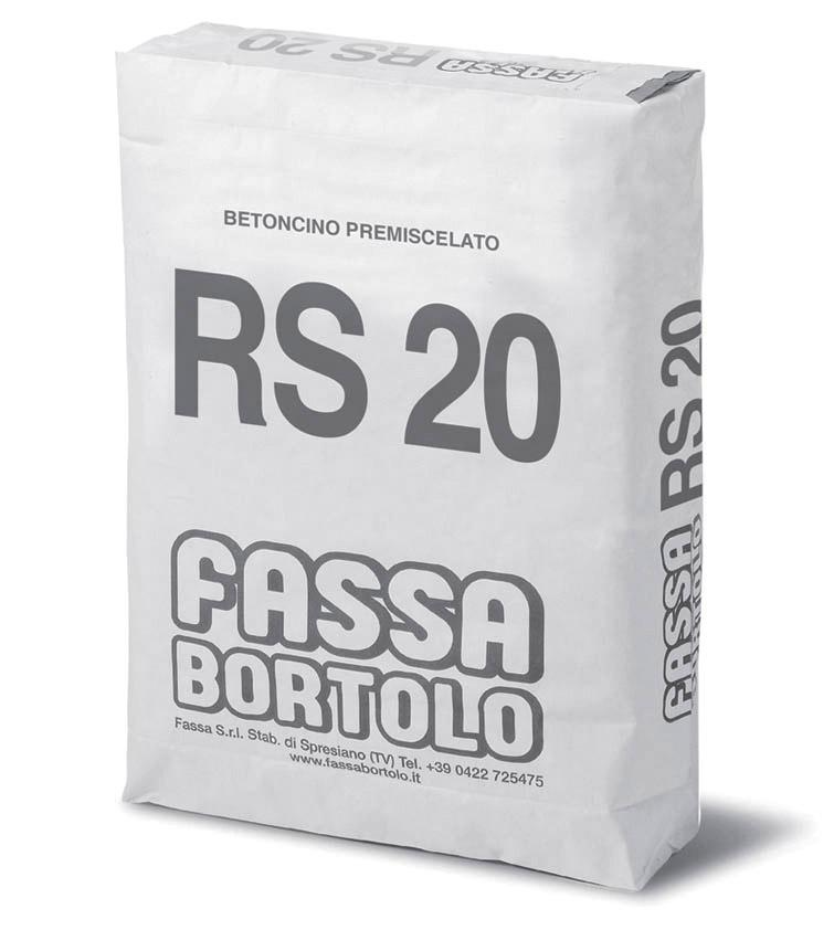 BETONCINO RS 20: Werksgemischter Verpressmörtel
