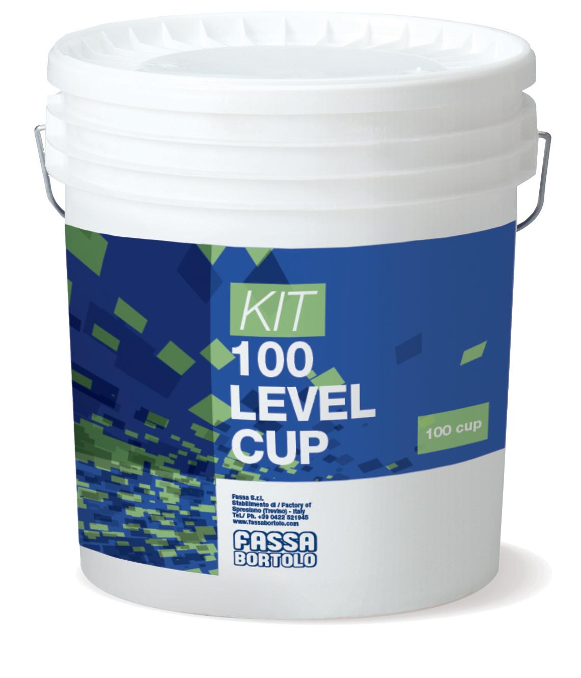100er KIT LEVEL CUP: Kit bestehend aus 100 Ersatzteilen Cup
