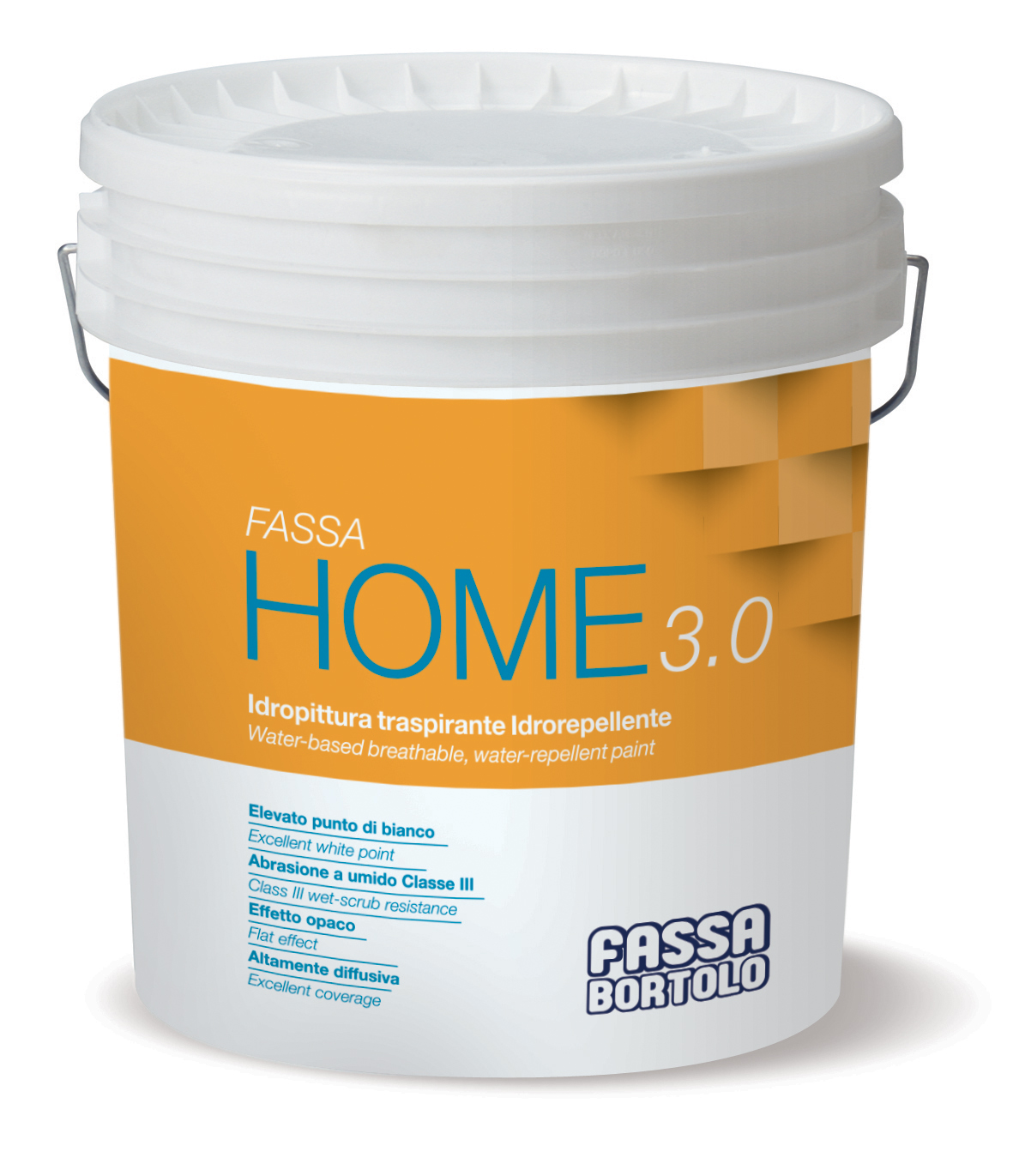 FASSA HOME 3.0: Wasserabweisender diffusionsoffener Anstrich auf Wasserbasis